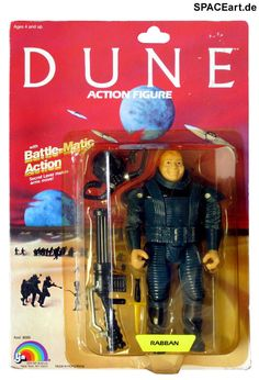 Dune - der Wüstenplanet: Action-Figuren Set » Typ: Action-Figuren » Hersteller: Ljn » https://spaceart.de/produkte/dwp004.php