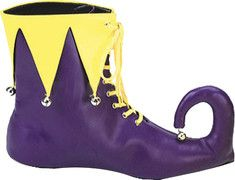 #Jester #Shoes on #shoebuy Funky Shoes, On Shoes, Homemade Bookshelves, Costume Patterns, Costume Ideas, Mike The Knight, Jester Costume, Knight Party, Court Jester