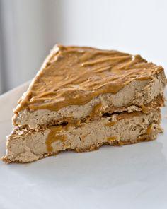 Caramel Macchiato Cheesecake. supposedly the best EVER dessert recipe feat. protein powder.