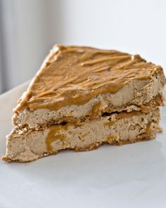 Caramel Macchiato Cheesecake. supposedly the best EVER dessert recipe feat. protein powder.