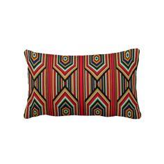 Inca design throw pillow