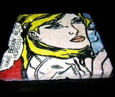 Posa-vasos impresos en mármol travertino por #photosoul, un buen regalo de #decoracion #interiorismo. ¿no?