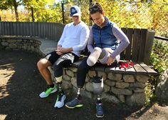 After amputations, Marathon bombing survivors forge ahead (Boston Globe)