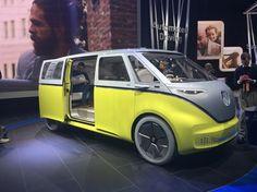 Detroit 2017: Volkswagen I.D. Buzz