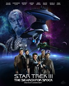 Star Trek 3 The Search for Spock.