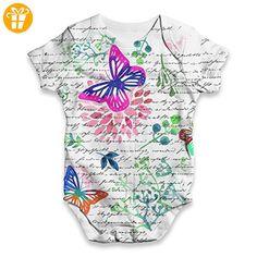 TWISTED ENVY Baby Jungen (0-24 Monate) Body Gr. XL, weiß - Baby bodys baby einteiler baby stampler (*Partner-Link)
