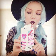 Pastel blue hair. #blue #hair #pastel #beauty