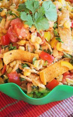Fritos Chili Cheese and Corn Salad