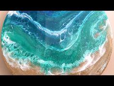 How to Make Beach Wave Resin Art