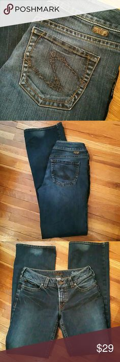 Silver Suki Jeans 29x34 Silver Jeans Jeans Boot Cut