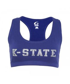 ef6f453f809aa Add a little sparkle to your look with this K-State Essential Bra Top!