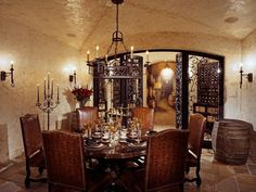 Outside the wine cellar, there's a special room for you to hold tastings.