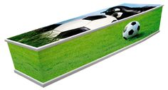 Dutch football coffin!