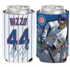 """- Full color imprinted 12 oz. can cooler with an imprint area of 4"""" x 8"""" made with 1/8"""" neoprene. - Made in the USA."""