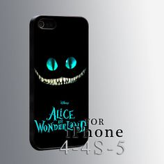Alice Wonderland Cheshire Cat, iPhone case, iPhone 4/4s/5/5s/5c case, Samsung Galaxy s4/s5 case, Samsung Case