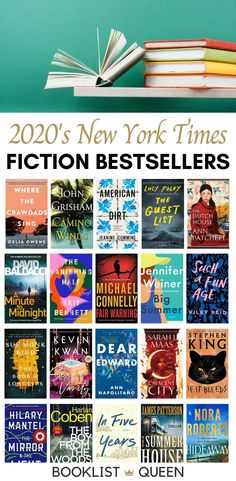 Go beyond just the current list of New York Times Fiction Best Sellers to discover every bestselling book listed on the NYT Bestseller List in 2020.