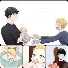 Cute Anime Pics, Anime Love, Anime Guys, Manga Boy, Manga Anime, Anime Art, Anime Family, Baby Drawing, Anime Child