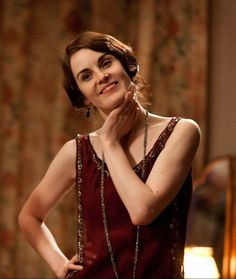 This is my favorite Lady Mary dress!