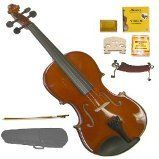 GRACE GV20 44 Size Solid Wood Hand Made Violin with Hard CaseBowRosin2 Sets Strings2 BridgesPitch PipeShoulder Rest >>> You can get additional details at the image link.Note:It is affiliate link to Amazon.