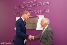 "Press Association on Twitter: ""William joins Ralph Lauren on breast cancer centre visit   @Tonyjo7"