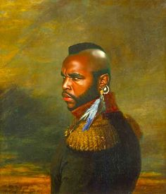 Mr. T   These Portraits Of Celebrities As Army Generals Are Amazing
