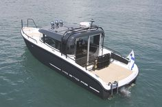 XO to launch a new cabin boat model at the Boot 2014 Show in Düsseldorf Trailerable Houseboats, Mako Boats, Utility Boat, Rib Boat, Boating Holidays, Deck Boat, Cabin Cruiser, Boat Interior, Cool Boats