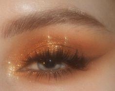 Bronze Eye Makeup, Edgy Makeup, Makeup Eye Looks, Eye Makeup Art, Cute Makeup, Pretty Makeup, Skin Makeup, Makeup Inspo, Makeup Inspiration