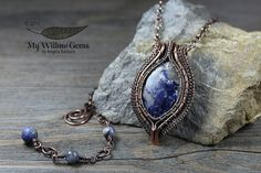 Wire Wrapped Sodalite Necklace - Alathea, Goddess of Truth | Flickr - Photo Sharing!