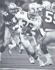 Reuben Mayes 1988 New Orleans Saints Football Team, Football Helmets, Manning Nfl, New Orleans Saints Football, All Saints Day, Running Back, Louisiana, Seasons, Guys