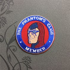 Phantom's Club Patch Embroidered Patch Punk Patches Iron On Patches sew on patches