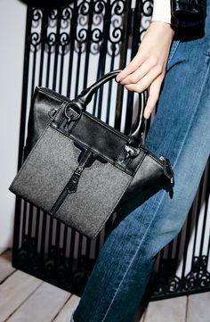 Material Mix Handbags Fall 2014