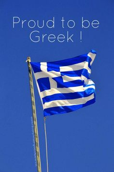 I'm not Greek but I'm supporting Greece through their hard times here. They were such wonderful people when we were there, I feel so bad they're having a hard time.
