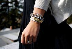 DIY for braided brass hex nut bracelet