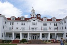 "Stanley Hotel - Steven King's Overlook Hotel I have stayed her many times so so interesting Stephen King...""The shinning""  OUT LOOK HOTEL"
