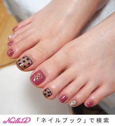 Feet Nail Design, Toe Nail Designs, Nails Design, Feet Nails, Toe Nail Art, Nails Inspiration, Tattoos, Simple, Sweetie Belle