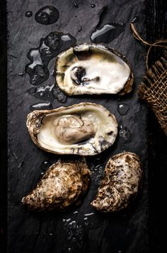 Cooking I food styling photography I Oysters on the Half Shell Food Photography Styling, Food Styling, Food Design, Snack, Seafood Recipes, Food Art, Food Inspiration, Love Food, Gastronomia