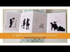 Twisted Pop-Up Card Tutorial - Splitcoaststampers