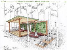 Mobiliario Urbano para el Parque Arvi de Medellín / Escala Urbana Arquitectura (26)