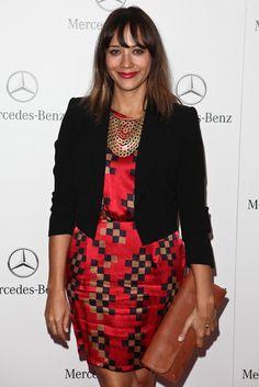 Rashida Jones spotted wearing the Stella & Dot Sierra Bib Necklace