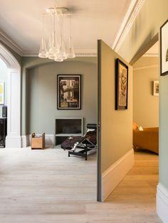 Secret Passageways to Hidden Rooms: homechanneltv. Secret Passageways to Hidden Rooms: homecha House Design, Room Design, House, Home, Cool Rooms, London House, Hidden Rooms, Moving Walls, Interior Design