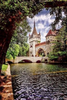 Vajdahunyad Castle, Budapest, Hungary - Explore the World, one Country at a Time. http://TravelNerdNici.com