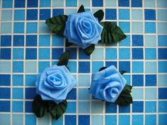 Růžičky ze stuh