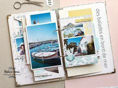 Mini Albums Scrapbook, Scrapbooking, Julie, Creations, Polaroid Film, Illustration, Ideas, Digi Stamps, Adventure