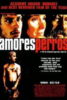 <3<3 Amores Perros by Alejandro González Iñárritu, 2000 (Emilio Echevarría, Gael García Bernal and Goya Toledo)