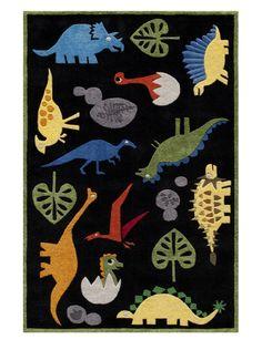 dinosaur rug.