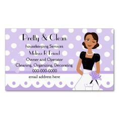 Jenny cleaning services flyer cleaning pinterest cleaning pretty and clean business card template accmission Choice Image