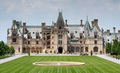 Set against North Carolina's Blue Ridge Mountains, George Vanderbilt's 250-room chateau-style Biltmore Estate ranks as the largest private home in America.