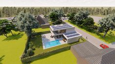 cool stuff moderne Architektur Are You Present With Your Children? Modern Japanese Architecture, Sustainable Architecture, Architecture Design, Classical Architecture, Modern Villa Design, Bungalow House Design, Modern Bungalow, Luxury Homes Dream Houses, Dream House Exterior
