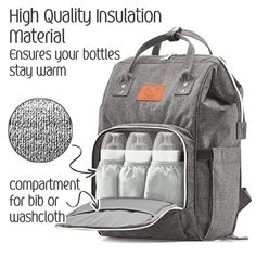 253989df6ae9 Baby Diaper Bag Backpack MultiFunction Waterproof Travel Baby Bags for Mom  Dad Men Women Large Maternity