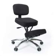 Kneeling Chair Orthopaedic Stool Ergonomic Posture Office Frame Seat Black Consumers First Other